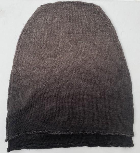Isabel Benenato Dip Dye Mütze Ash