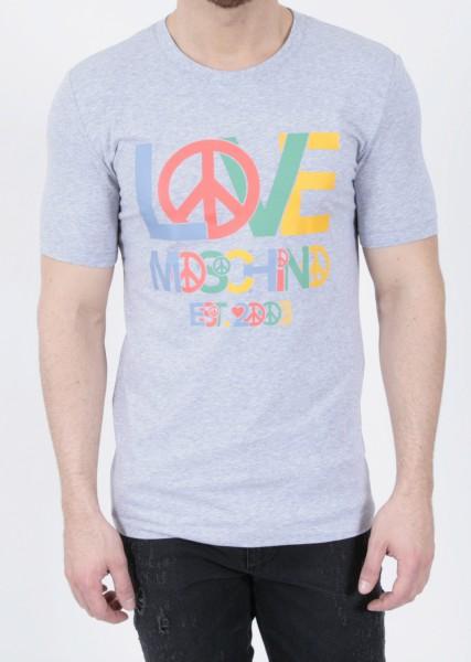 Love Moschino T-Shirt Love Grey