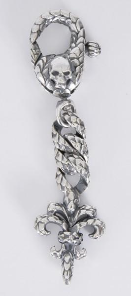 Elfcraft Schlüsselanhänger Cross Lily