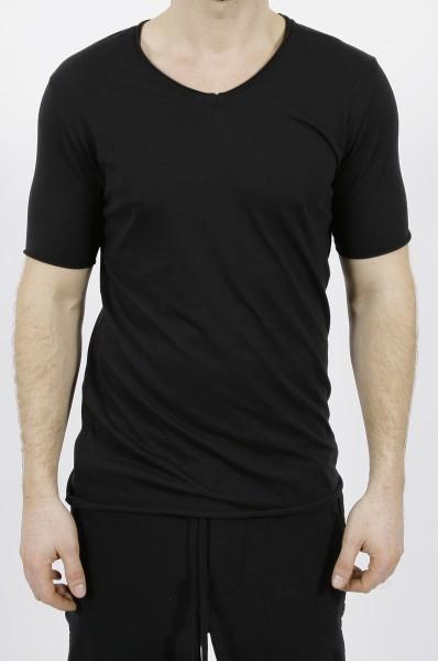 Thom Krom V-Neck T-Shirt Black