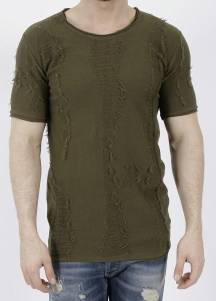 RH45 Knitted T-Shirt Green