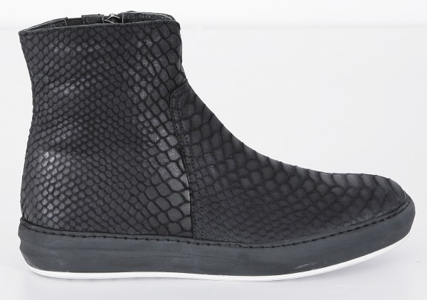 Cultum Black Snake Zip Sneakers