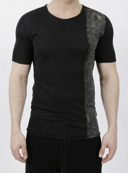 MD75 Linen Pullover Nero