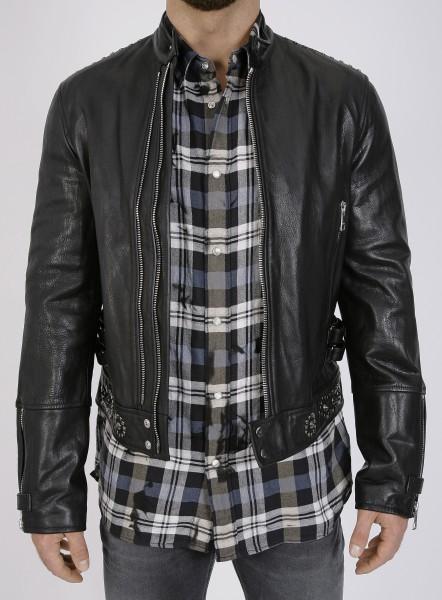Just Cavalli Rivets Leatherjacket