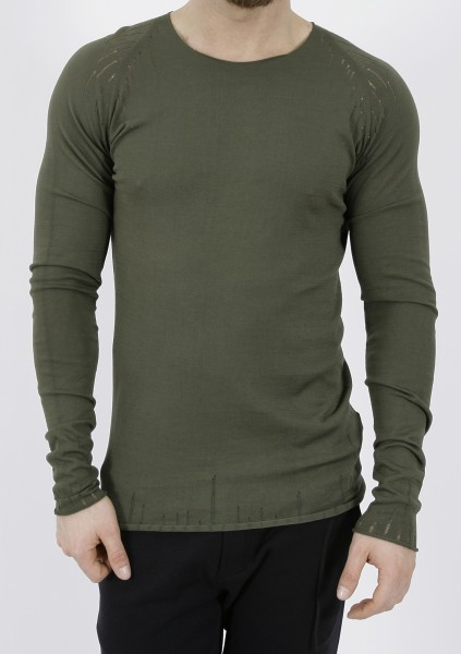 MD75 Destroyed Pullover Militare