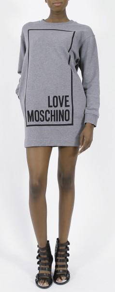 Love Moschino Logo Sweatshirt Dress
