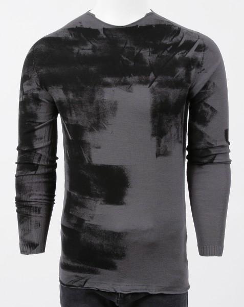 MD75 Pullover Anthra Black