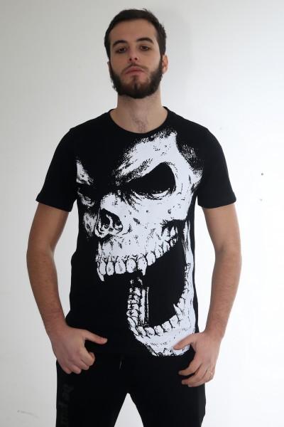 De Puta Madre Skull T Shirt