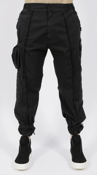 Nostra Santissima Cargo Pant Black