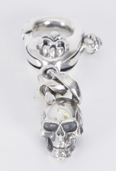 Elfcraft Schlüsselanhänger Skull