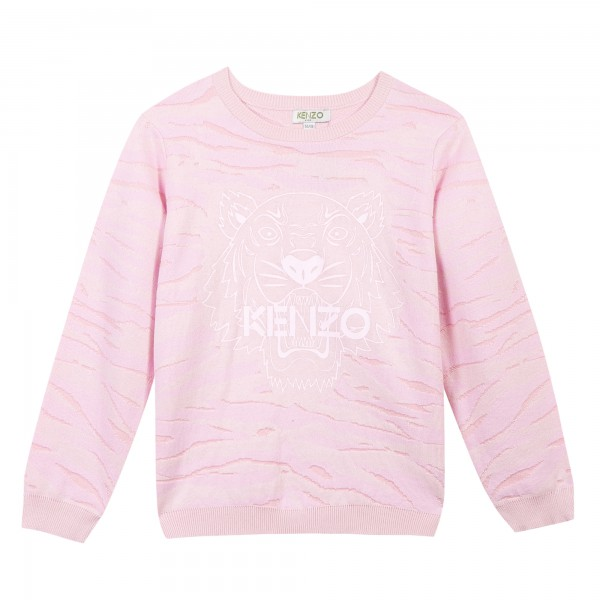 Kenzo Kids Strickpullover light pink