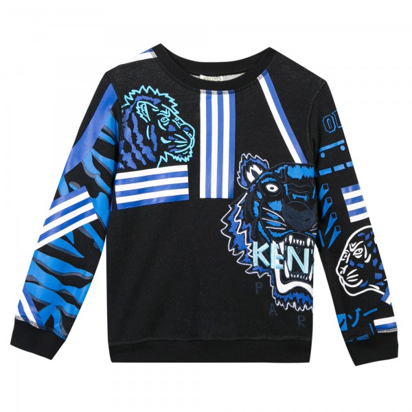 Kenzo Kids Twisted Tiger Pulli
