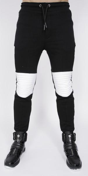 Eco Leather Sweatpants