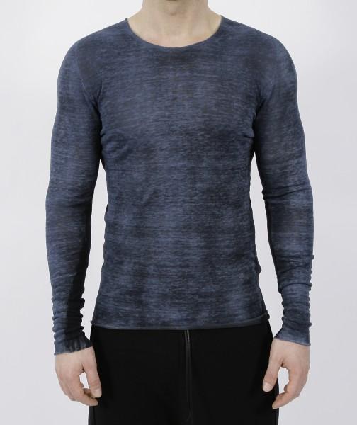 MD75 Pullover Linen Blu