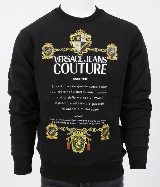 Versace Jeans Couture Big Logo Sweatshirt