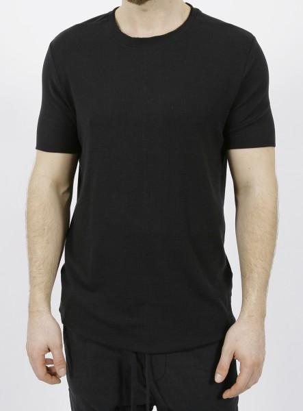 Thom Krom Ripp T-Shirt Black