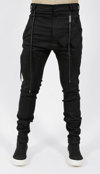 Army of me Slim Coated Velcro Pocket Trousers