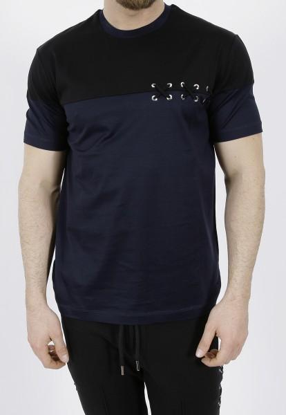 Les Hommes T-Shirt with Laces