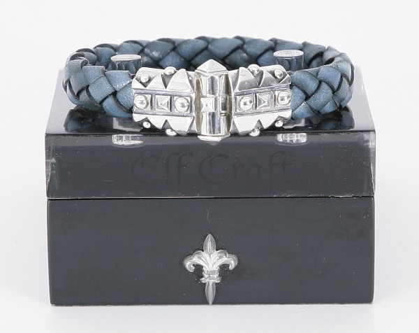 Elfcraft Armband Sparks Blau