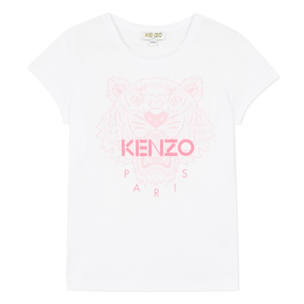 Kenzo Kids Tiger white Tee