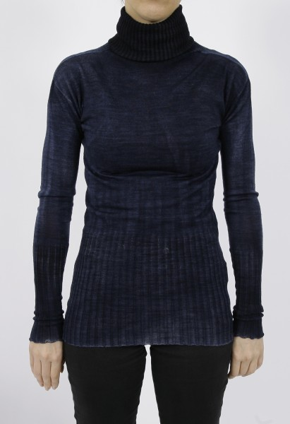 MD75 Pullover Woman Notte blue