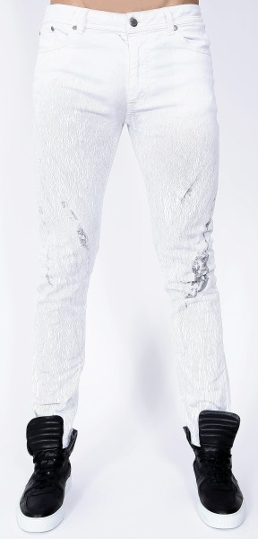 Minia Slim Fit Jeans Off White
