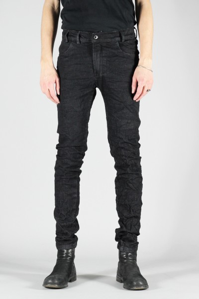 Versuchskind Tight Black Crushed Jeans