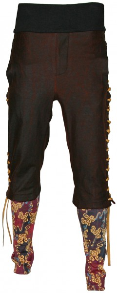 Vivienne Westwood Man Coated Jersey 3/4 Trousers