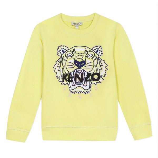 Kenzo Kids Tiger Sweatshirt lemon