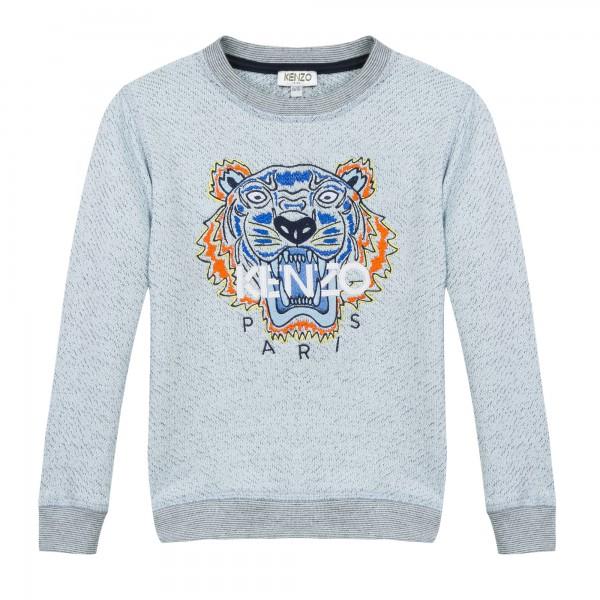Kenzo Kids Tiger Sweater marl blue