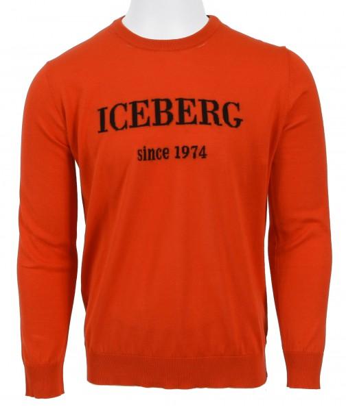 Iceberg Silk Pullover Red