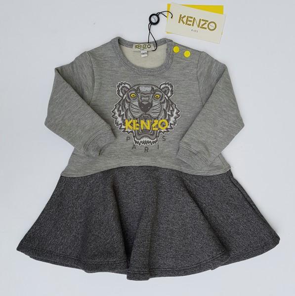 KENZO Tiger Sweatdress grey