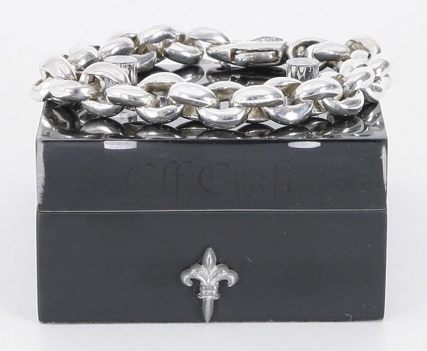 Elfcraft Silberarmband Erbschain Karabiner