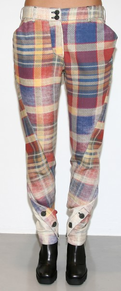 Vivienne Westwood Anglomania Twisted Trousers