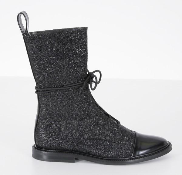 Inch2 Caviar Brogue Boots