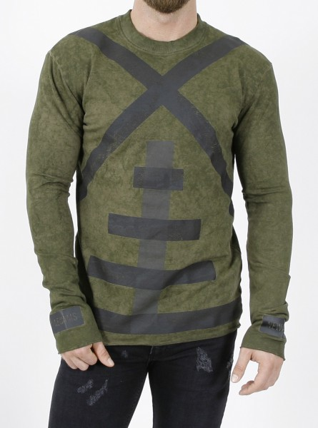 Newams Acid Camo Mill Sweater