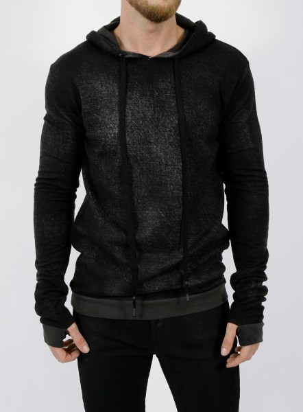 MD75 Knitted Hoody