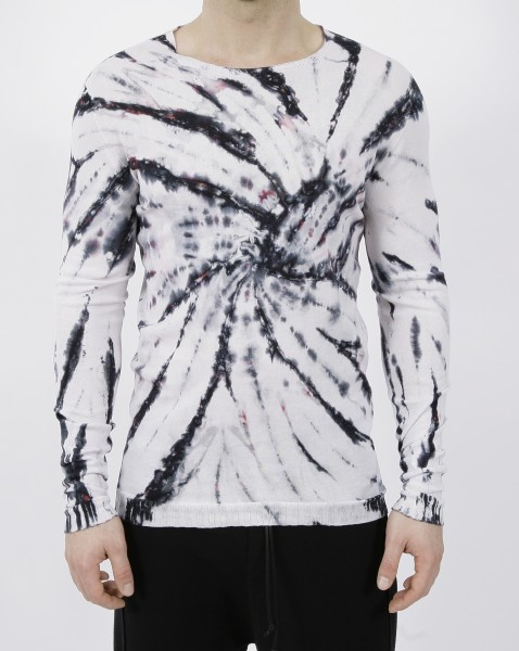 MD75 Pullover Bianco Tie