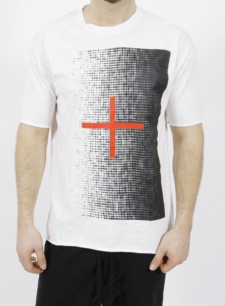 Thom Krom Cross T-Shirt White