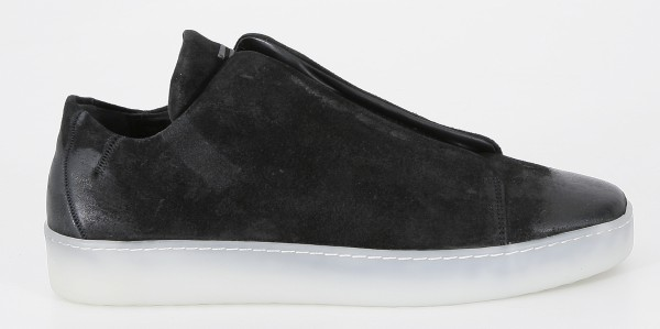 The Last Conspiracy Riley Waxed Suede Sneakers