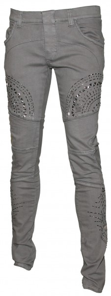 John Richmond Studded Biker Trousers