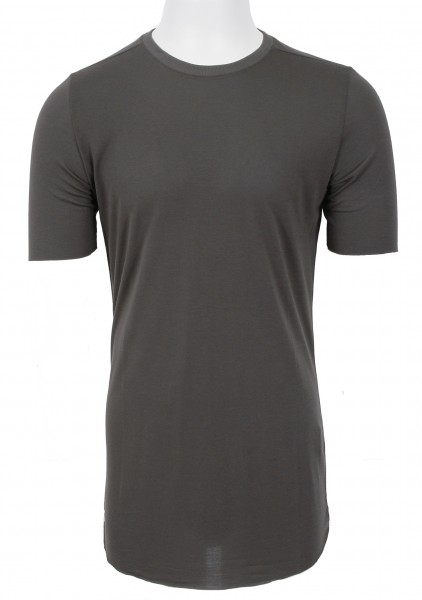 Thom Krom Silk T-Shirt Taupe