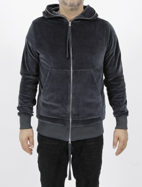 Thom Krom Velvet Jacket Steel
