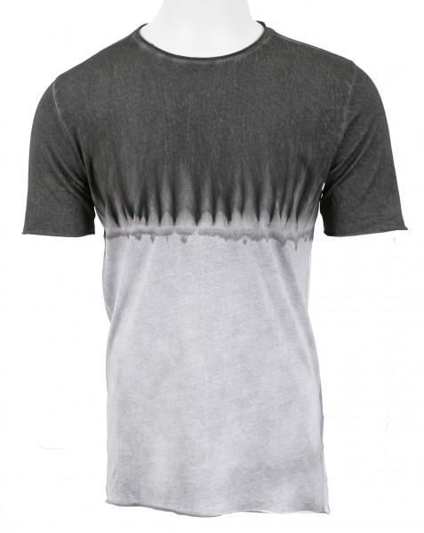 Thom Krom Dip Dye T- Shirt Grey