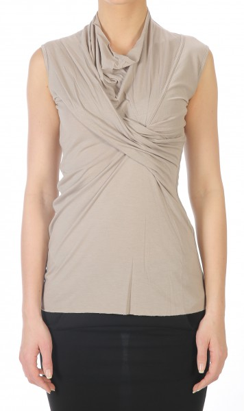 Rick Owens Lilies Wrap pearl Top