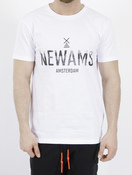 Newams Stamp T-Shirt White