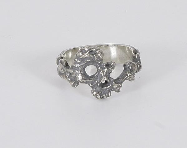Tobias Wistisen Eroded Skull Ring