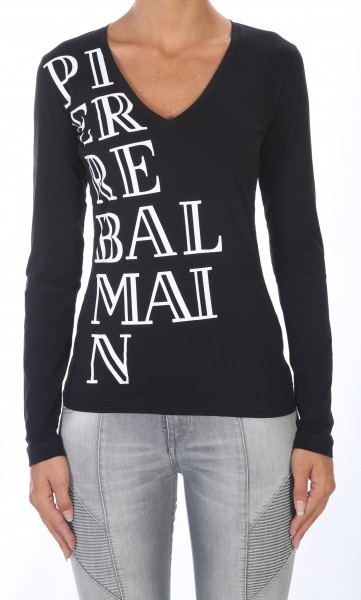 Pierre Balmain Logo Sleeve black