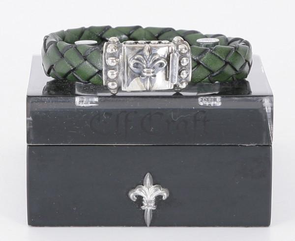 Elfcraft Armband Lilie Olive