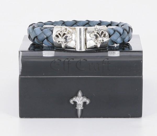Elfcraft Armband Lilie Blau